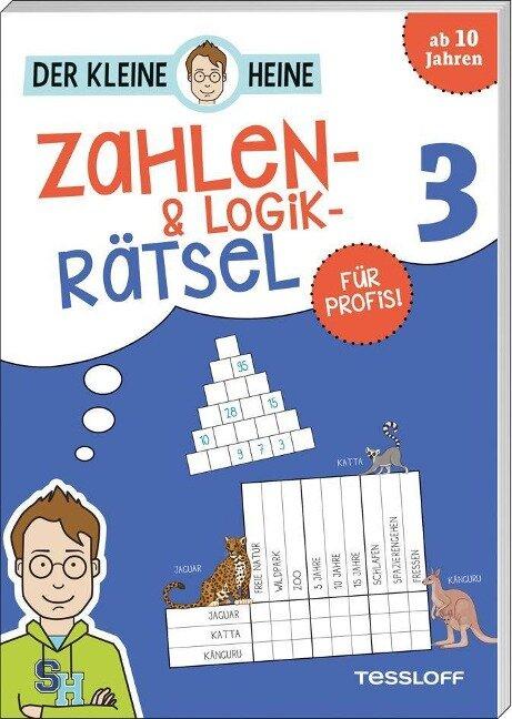 Der kleine Heine. Zahlen- und Logikrätsel 3. Für Profis! - Stefan Heine