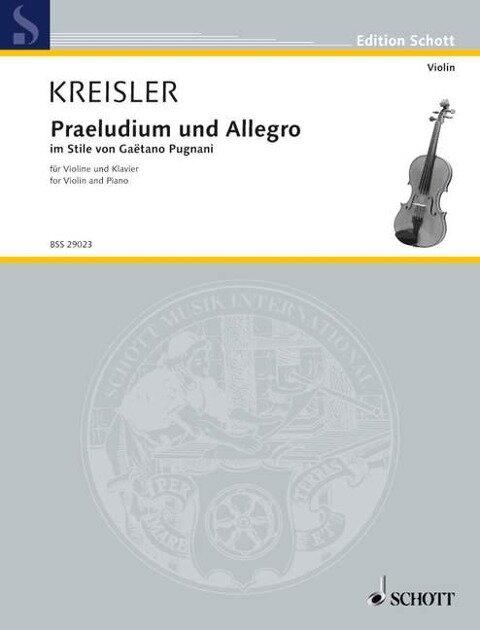 Praeludium und Allegro - Fritz Kreisler