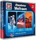 WAS IST WAS 3-CD-Hörspielbox Abenteuer Weltraum - Manfred Baur