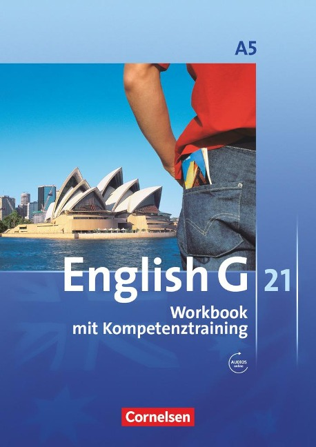 English G 21. Ausgabe A 5. Workbook mit Audios online - Jennifer Seidl