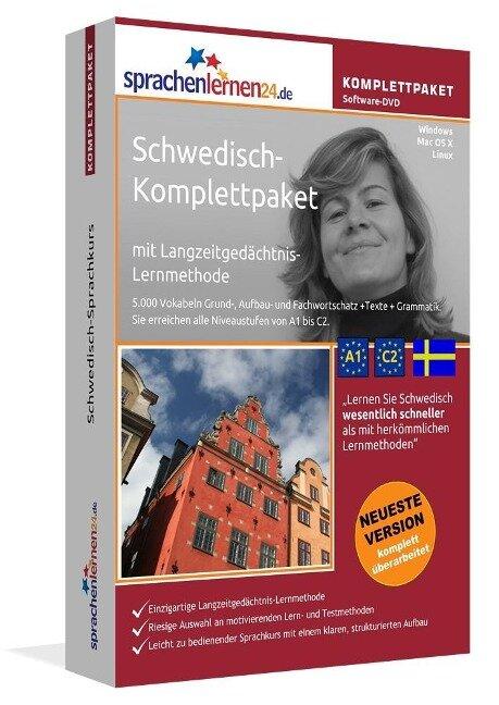 Sprachenlernen24.de Schwedisch-Komplettpaket (Sprachkurs) -
