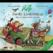 Rolfs bunte Liederreise. CD -