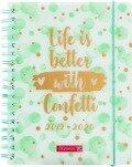 BRUNNEN Schülerkalender 2019/20 Confetti -