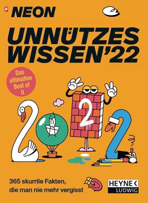 NEON - Unnützes Wissen 2022 Abreißkalender -