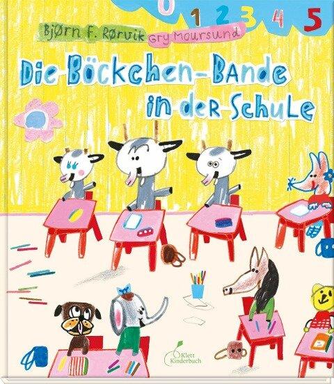 Die Böckchen-Bande in der Schule - Bjørn F. Rørvik