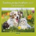 Tierfreundschaften Familientimer 2017. Broschürenkalender -