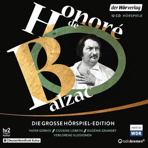 Die große Hörspiel-Edition - Honoré de Balzac