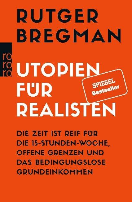 Utopien für Realisten - Rutger Bregman