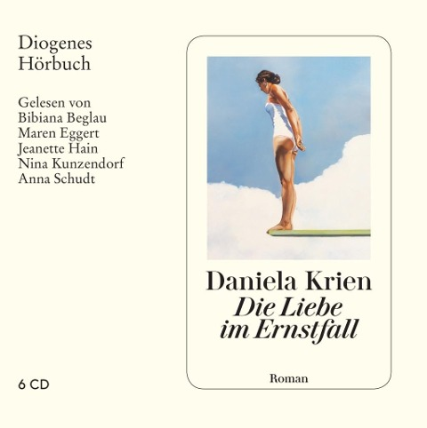 Die Liebe im Ernstfall - Daniela Krien