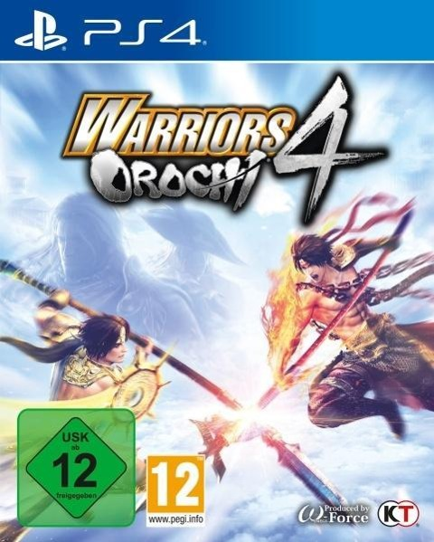 Warriors Orochi 4 (PlayStation PS4) -