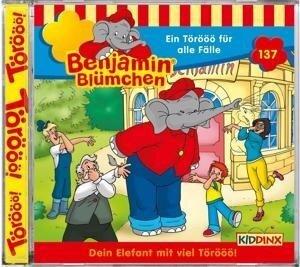 Benjamin Blümchen 137. Ein Törööö für alle Fälle - Geburtstagsfolge. CD -