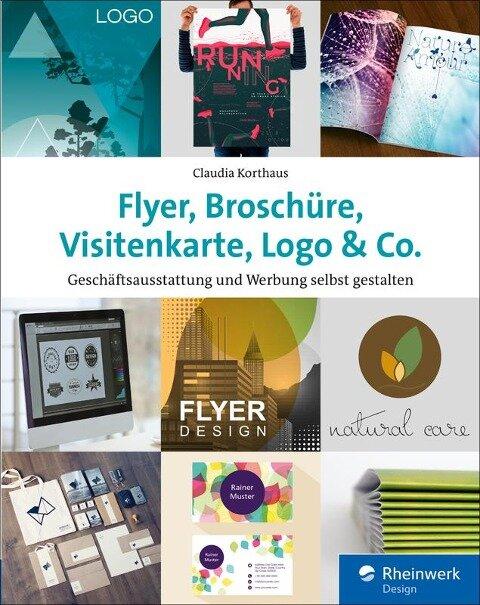 Flyer, Broschüre, Visitenkarte, Logo & Co. - Claudia Korthaus