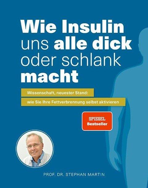 Wie Insulin uns alle dick oder schlank macht - Stephan Martin, Kerstin Kempf, Julia Rommelfanger