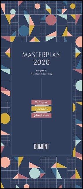 Masterplan - Designed by Haferkorn & Sauerbrey 2020 - DUMONT XXL-Planer mit 6 Spalten
