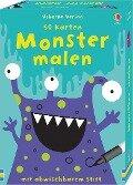 50 Karten: Monster malen - Fiona Watt