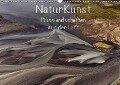 NaturKunst Flusslandschaften aus der Luft (Wandkalender 2019 DIN A3 quer) - Klaus Gerken