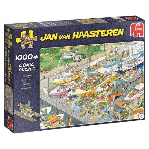 Jan van Haasteren - Die Schleuse - 1000 Teile Puzzle -