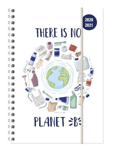 Collegetimer Planet B 2020/2021 - Schüler-Kalender A5 (15x21 cm) - Erde -