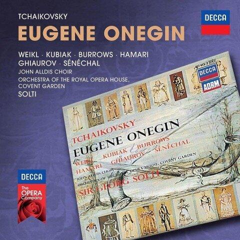 Eugene Onegin - Weikl/Kubiak/Burrows/Hamari/Solti