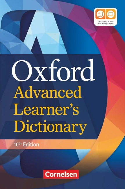 Oxford Advanced Learner's Dictionary B2-C2 (10th Edition) mit Online-Zugangscode -