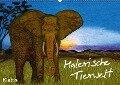 Malerische Tierwelt (Wandkalender 2018 DIN A2 quer) - K. A. Klattis