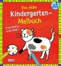 Das dicke Kindergarten-Malbuch: Erste Reime, erste Bilder - Imke Sörensen