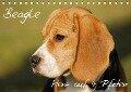 Beagle - Herz auf 4 Pfoten (Tischkalender 2018 DIN A5 quer) Dieser erfolgreiche Kalender wurde dieses Jahr mit gleichen Bildern und aktualisiertem Kalendarium wiederveröffentlicht. - Sigrid Starick