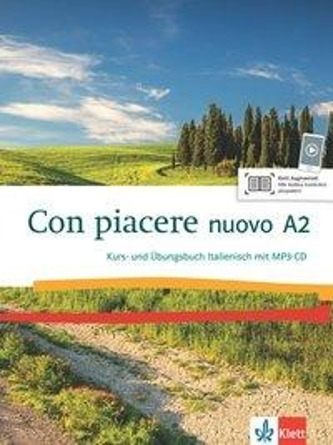 Con piacere nuovo A2. Kurs- und Übungsbuch + MP3-CD -