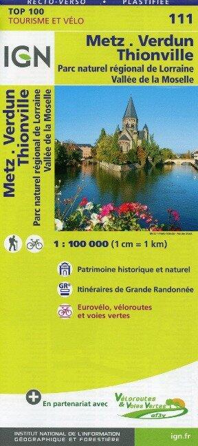 Metz Verdun Thionville 1 : 100 000 -