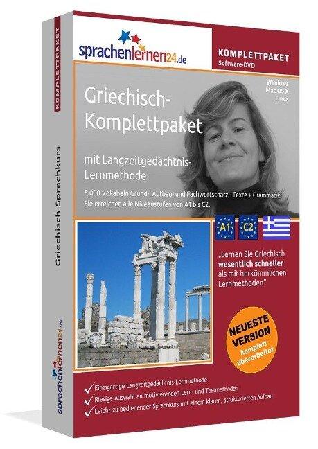 Sprachenlernen24.de Griechisch-Komplettpaket (Sprachkurs) -