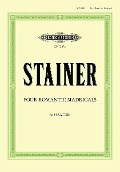 Four Romantic Madrigals - John Stainer