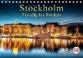 Stockholm - Venedig des Nordens (Tischkalender 2018 DIN A5 quer) Dieser erfolgreiche Kalender wurde dieses Jahr mit gleichen Bildern und aktualisiertem Kalendarium wiederveröffentlicht. - Peter Roder