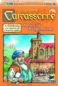 Carcassonne. Abtei und Bürgermeister. Die 5. Erweiterung -
