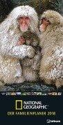 National Geographic: Der Familienplaner 2018 -