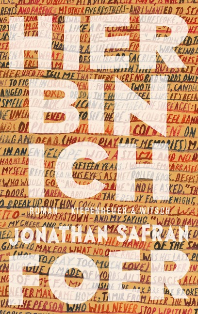 Hier bin ich - Jonathan Safran Foer