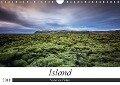 Island - Natur im Fokus (Wandkalender 2018 DIN A4 quer) - Dieter Weck