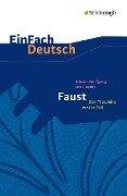 Faust. Mit Materialien - Johann Wolfgang von Goethe, Franz Waldherr