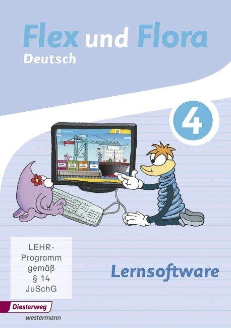 Flex und Flora 4. CD-ROM Lernsoftware -