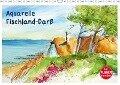 Aquarelle - Fischland-Darß (Wandkalender 2019 DIN A3 quer) - Brigitte Dürr