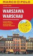 MARCO POLO Cityplan Warschau 1 : 15.000 -
