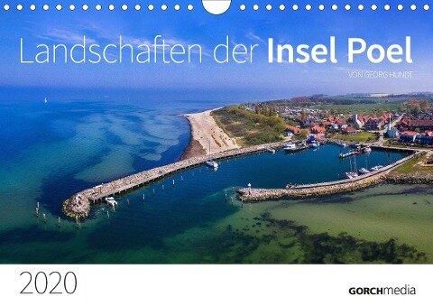 """Kalender """"Landschaften der Insel Poel"""" 2020 (Wandkalender 2020 DIN A4 quer) - Georg Hundt"""