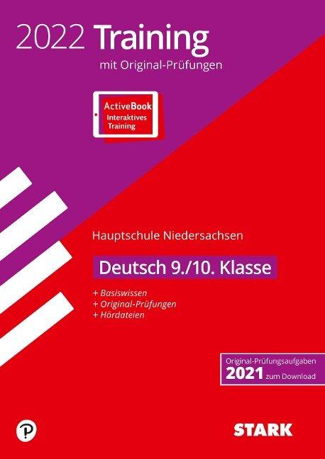 STARK Original-Prüfungen und Training Hauptschule 2022 - Deutsch 9./10. Klasse - Niedersachsen -