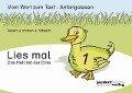 Lies mal 1 - Das Heft mit der Ente - Peter Wachendorf, Jan Debbrecht