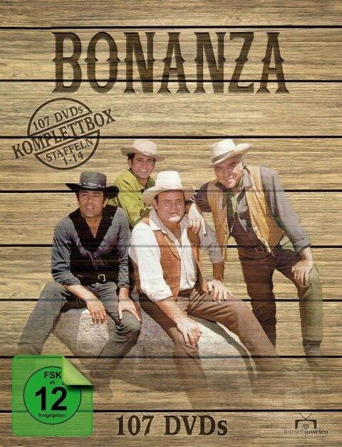 Bonanza - Komplettbox (Staffel 1-14) -