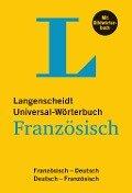 Langenscheidt Universal-Wörterbuch Französisch - mit Bildwörterbuch -