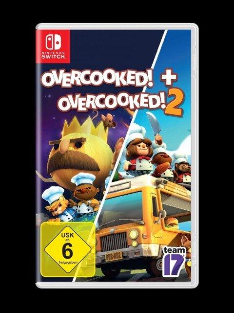 OVERCOOKED + OVERCOOKED! 2 Double Pack (Nintendo Switch) -