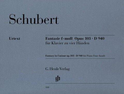 Fantasie f-moll op. 103 D 940 - Franz Schubert