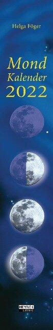 Mondkalender 2022 - Helga Föger