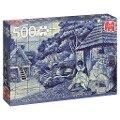 Portugiesische Fliesen aus Funchal - 500 Teile Puzzle -