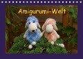 Amigurumi-Welt (Tischkalender 2018 DIN A5 quer) - Helmut Schneller